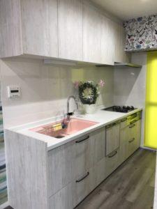 キッチン AFTER② システムキッチンで汚れもすぐ落ちます