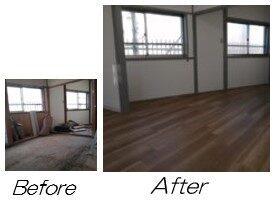 2階 Before / After